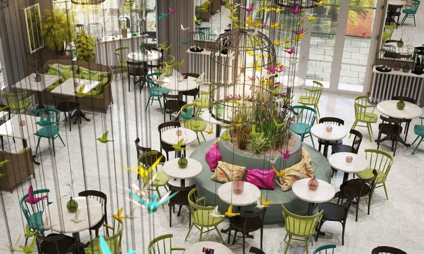 Des idées incroyables de salle à manger de restaurant  Des idées incroyables de salle à manger de restaurant capa 2 1
