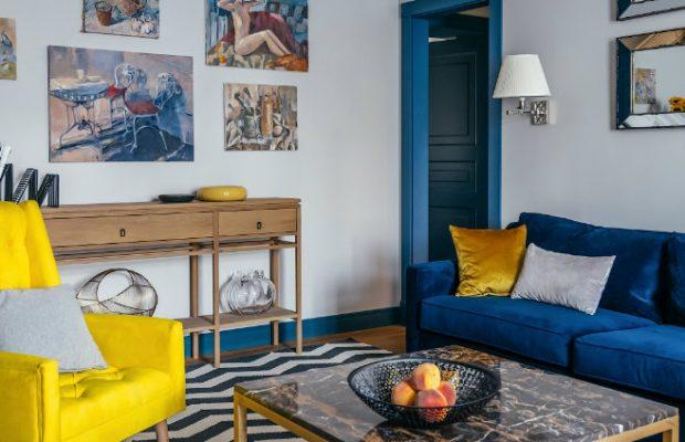 Une Palette de Bonheur Unique Dans Un Appartement de luxe  à Moscou