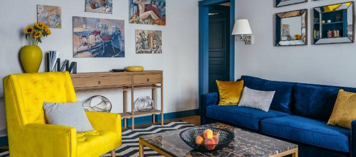 Une Palette de Bonheur Unique Dans Un Appartement de luxe  à Moscou capa 710x315