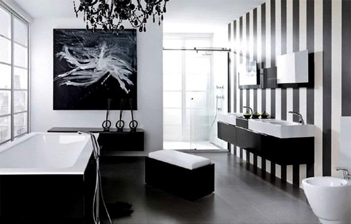 tendances de dcoration 2018 salles de bain noir blanche magasins deco les