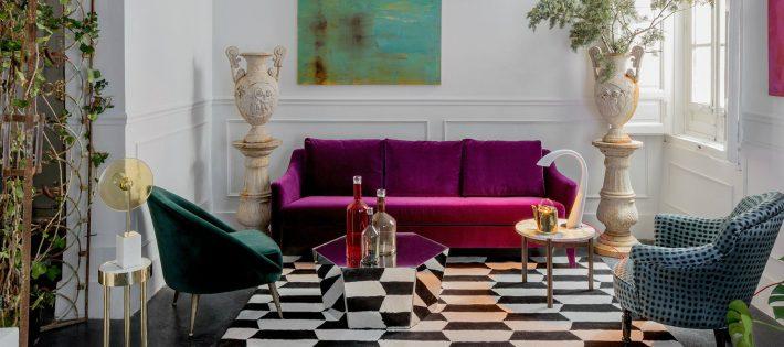 Tendance 2018 : Le Violet S'Invite Dans Votre Salon