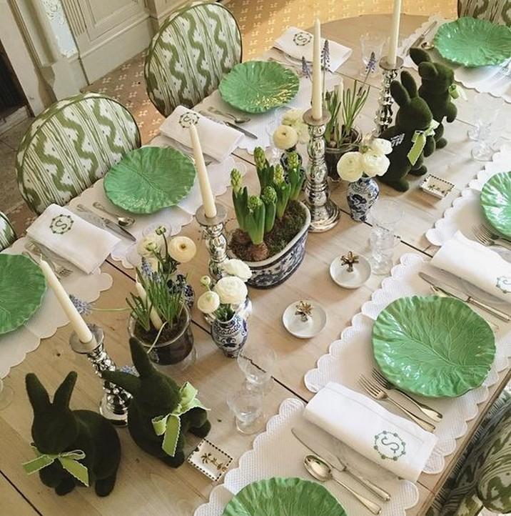 5 Élégant Décors de Table de Pâques pour Surprendre vos Invités 5 Stylish Easter Tablescapes to Surprise Your Easter Brunch Guests 1