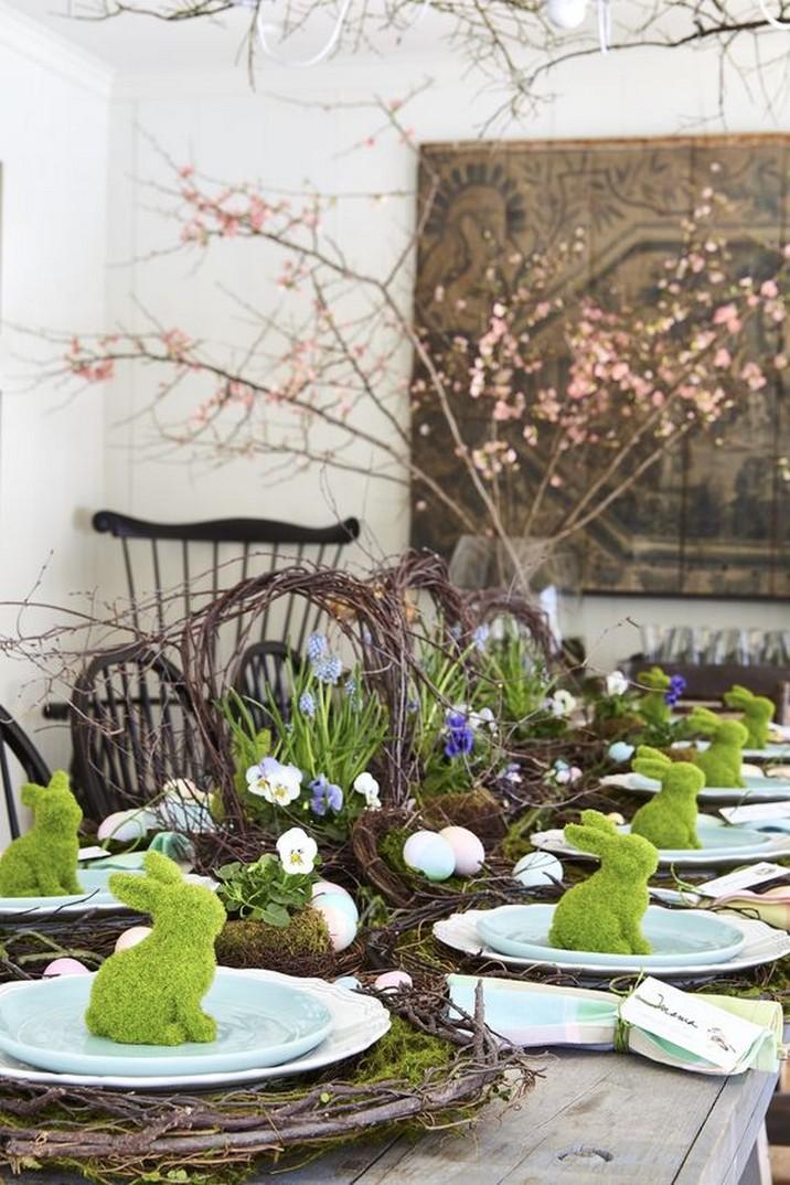 5 Élégant Décors de Table de Pâques pour Surprendre vos Invités 5 Stylish Easter Tablescapes to Surprise Your Easter Brunch Guests 2