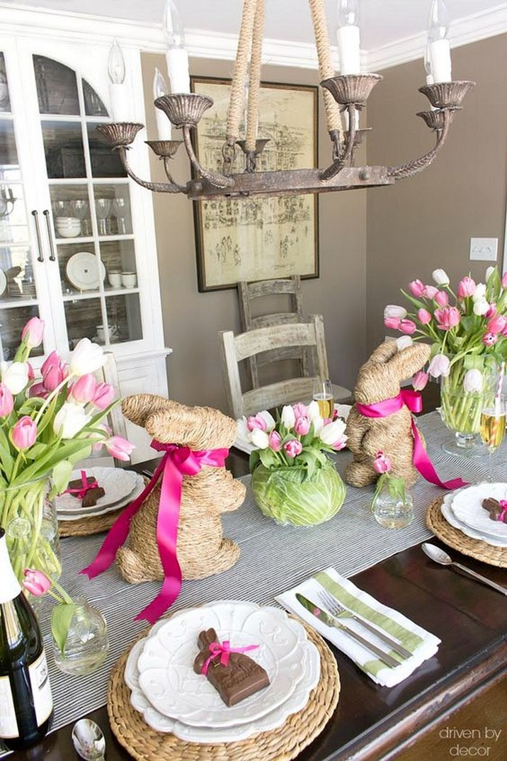 5 Élégant Décors de Table de Pâques pour Surprendre vos Invités 5 Stylish Easter Tablescapes to Surprise Your Easter Brunch Guests 4