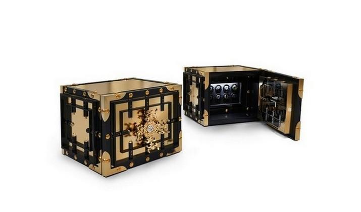 Gardez vos Bijoux en toute Sécurité avec ces Étonnants Coffres de Luxe Gardez vos Bijoux en toute S  curit   avec ces   tonnants Coffres Forts de luxe 6