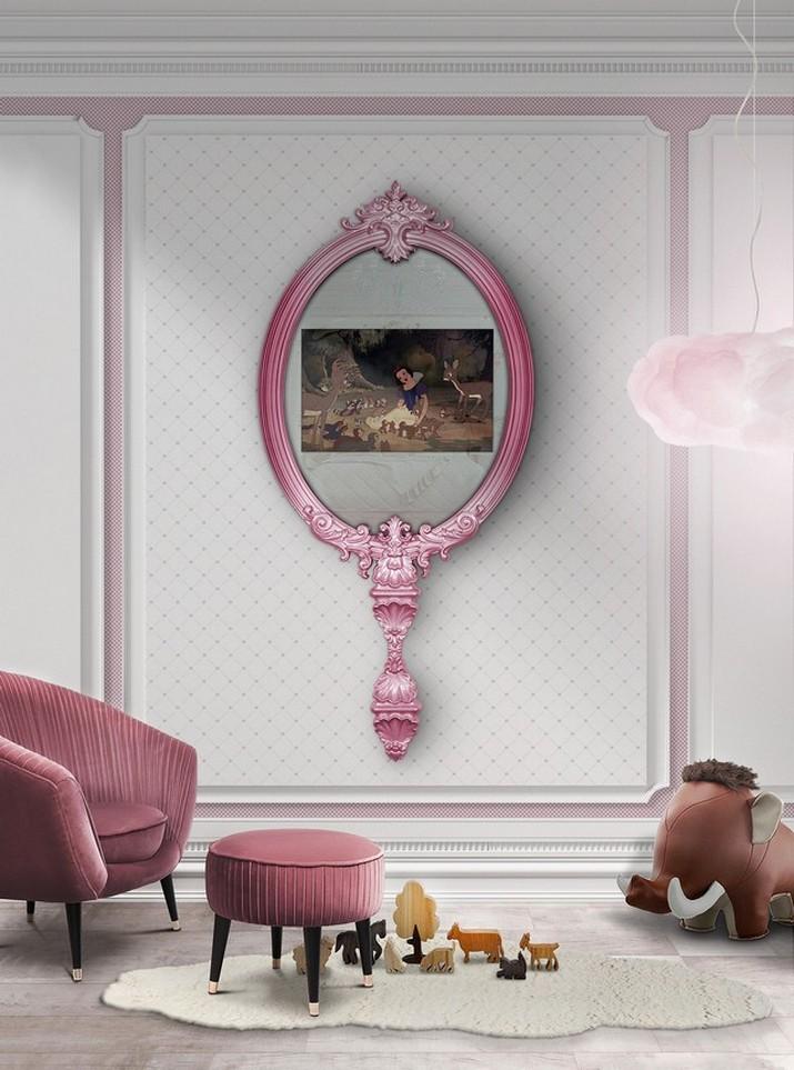 Idées des Chambres d'Enfants: 5 Miroirs Muraux que Vous Allez Adorer! Id  es des Chambres dEnfants 5 Miroirs Muraux que Vous Allez Adorer 5