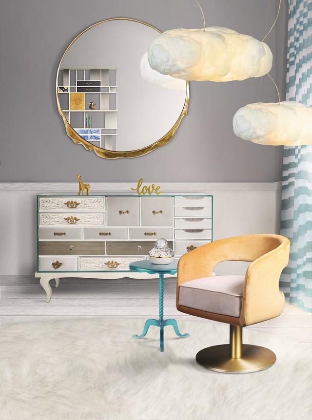 Idées des Chambres d'Enfants: 5 Miroirs Muraux que Vous Allez Adorer! Kids Bedroom Decor Ideas 5 Stunning Wall Mirrors Youll Love 1