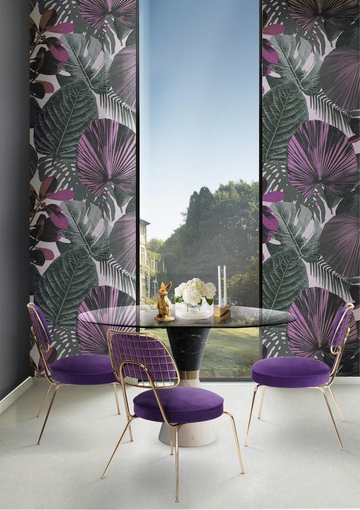papier peint tropical la derni re tendance de d coration 2018 magasins d co les derni res. Black Bedroom Furniture Sets. Home Design Ideas