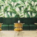 Papier Peint Tropical : La derniére Tendance de Décoration 2018 restaurant hotel b aires 120x120