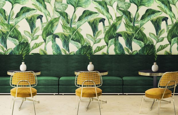 Papier Peint Tropical La Derniere Tendance De Decoration 2018
