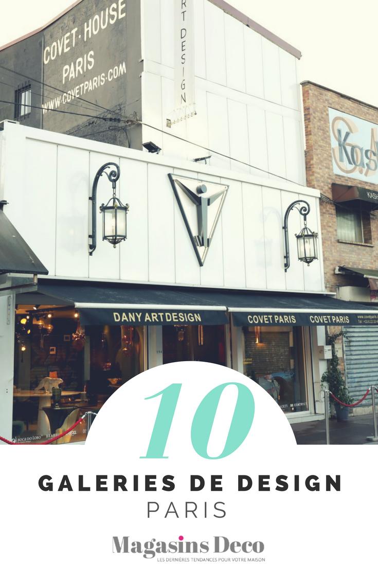 Top 10 des Galeries de design de Paris 6