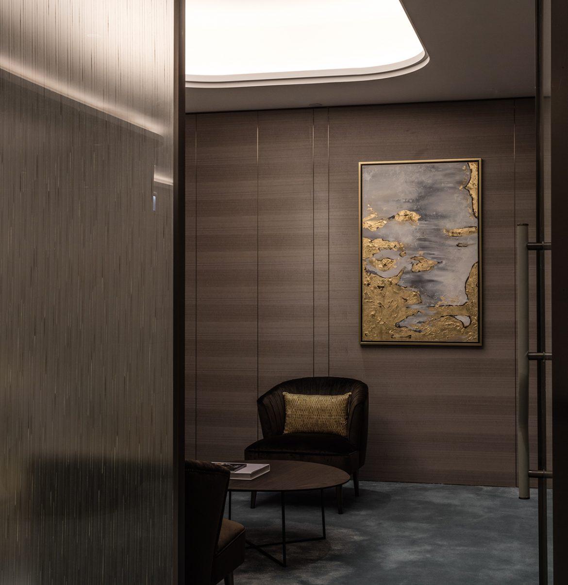 Bureaux  Les bureaux La Cresta par PTANG Studio Ptang Studio Octa Tower Sales Office 56