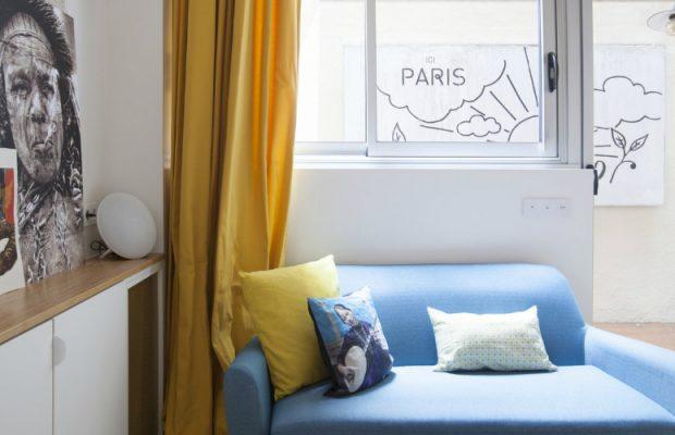 Un Petit Pied-à-Terre de 40m2 a Paris par l'Architect Remy Bardin