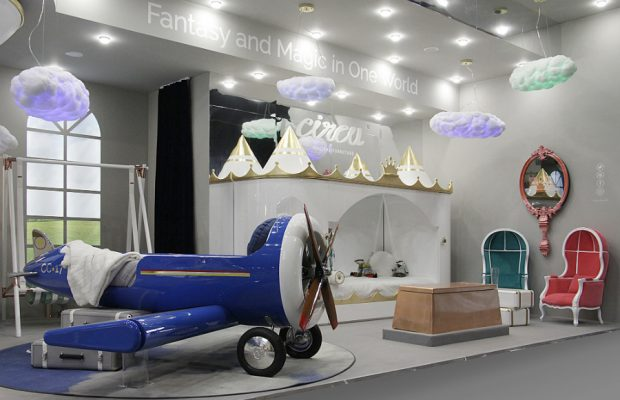 Le mobilier Circu Magical fait ses débuts sur LUXE TV  Le mobilier Circu Magical fait ses débuts sur LUXE TV isaloni italy apr 2018 circu magical furniture 3 620x400