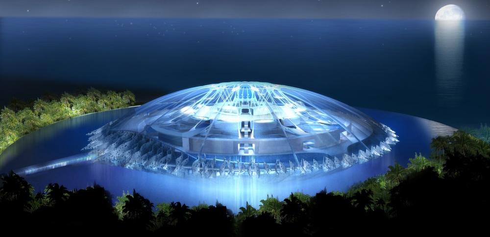 Pourquoi Jacques Rougerie est l'architecte du développement durable ? 1 Atlantis GrandFormat