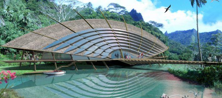 Pourquoi Jacques Rougerie est l'architecte du développement durable ? 1 Moorea Grand format 710x315