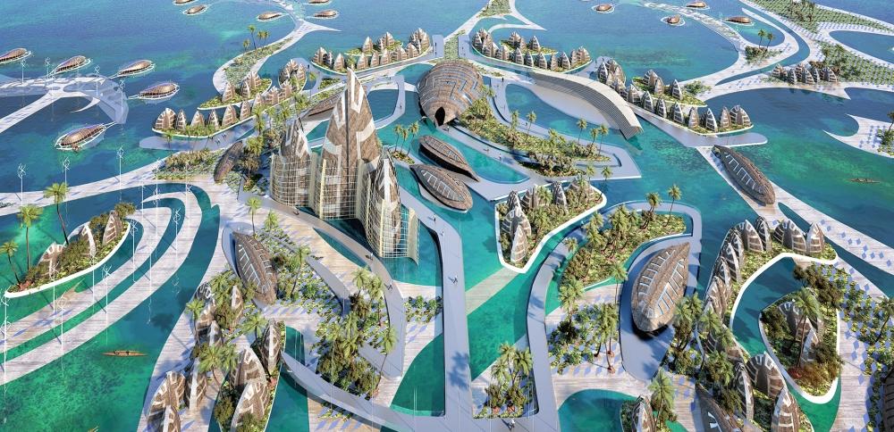 Pourquoi Jacques Rougerie est l'architecte du développement durable ? 3 Tahitit