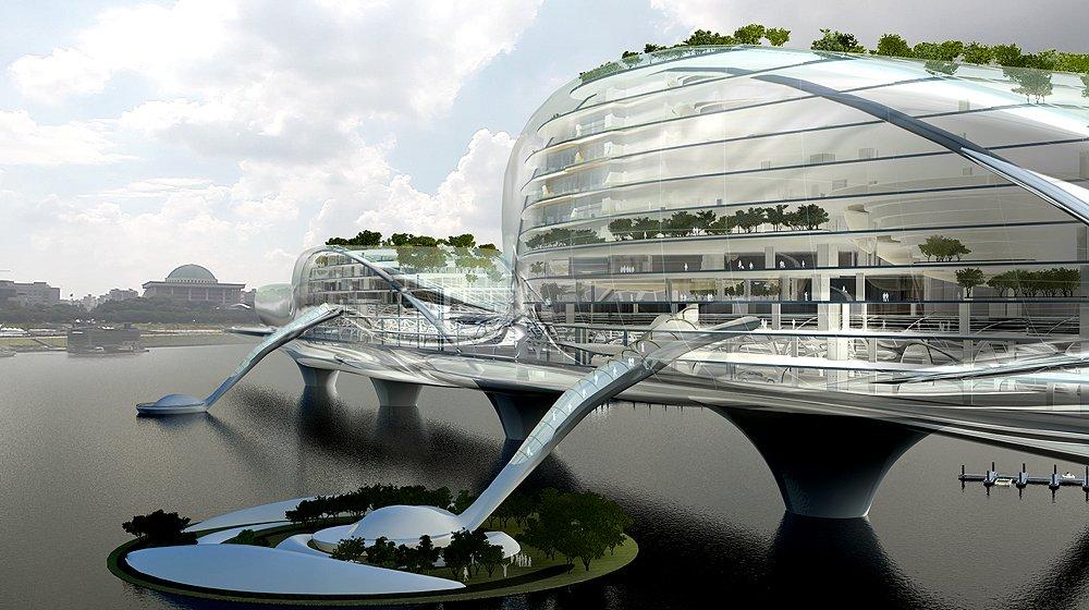 jacques rougerie Jacques Rougerie, the architect of the sustainable development ? Arch2o Paik Nam June Media Bridge 4