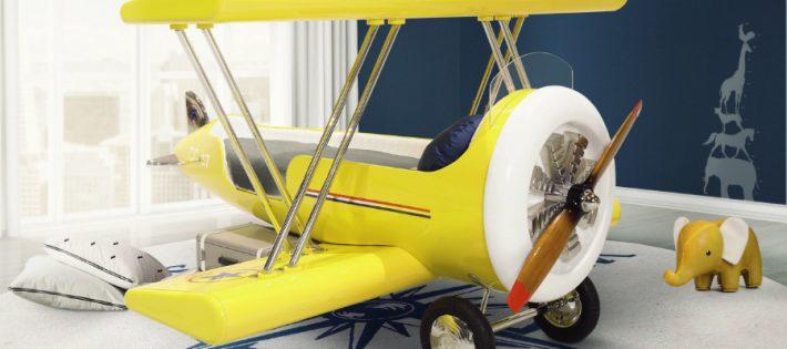 IDEES POUR ENFANTS: LE LIT PARFAIT POUR AVION POUR VOTRE PETIT 'ACE' sky b plane bed circu magical furniture 1 710x315