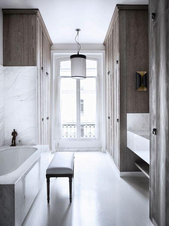 Gilles & Boissier - L'innovation en Noir et Blanc Appartement Parc Monceau 1