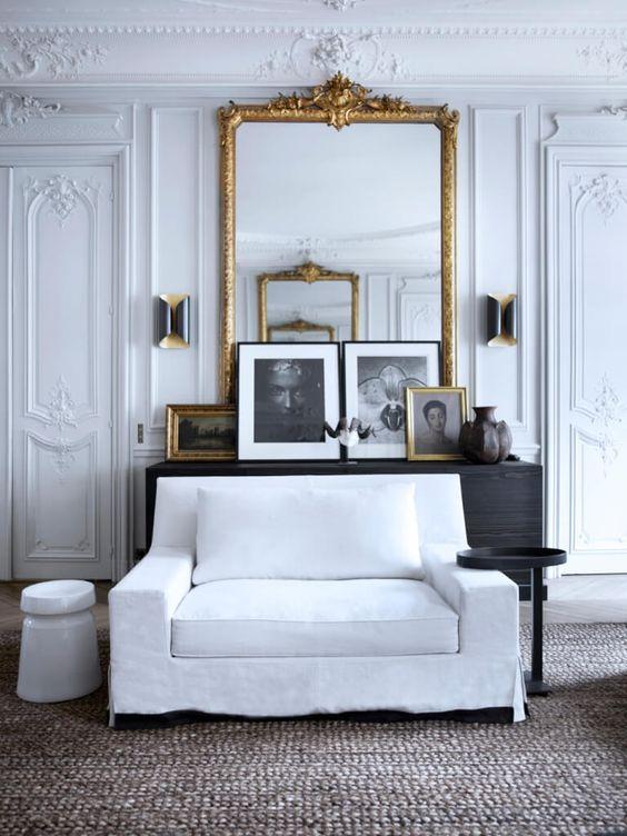 Gilles & Boissier - L'innovation en Noir et Blanc Appartement Parc Monceau