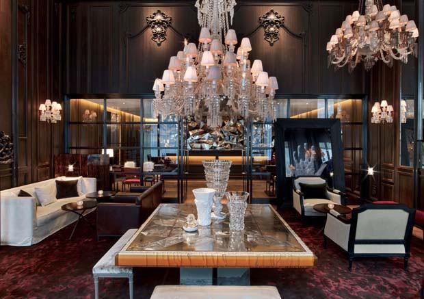 Gilles & Boissier - L'innovation en Noir et Blanc Baccarat hotel NYC 1
