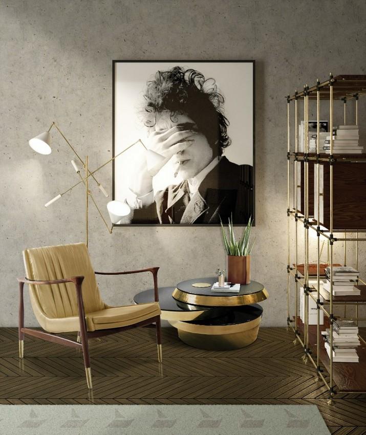 Tendances de Design d'Intérieur: Comment Avoir un Salon du Style Milieu du Siècle Tendances de Design dInt  rieur Comment Avoir un Salon du Style Milieu du Si  cle 2018 3