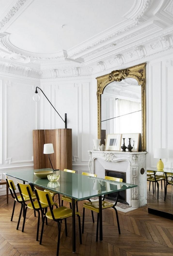Une Maison Parisienne Éclectique Par Luis Laplace  Une Maison Parisienne Éclectique Par Luis Laplace Une Maison Parisienne   clectique Par Luis Laplace 1