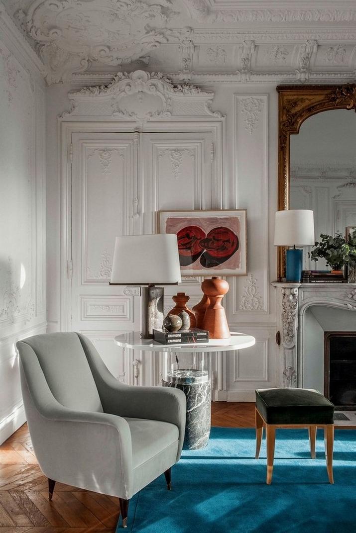 Une Maison Parisienne Éclectique Par Luis Laplace  Une Maison Parisienne Éclectique Par Luis Laplace Une Maison Parisienne   clectique Par Luis Laplace 3