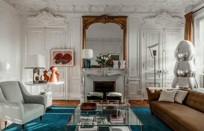 Une Maison Parisienne Éclectique Par Luis Laplace  Une Maison Parisienne Éclectique Par Luis Laplace Une Maison Parisienne   clectique Par Luis Laplace 4