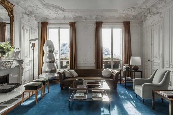 Une Maison Parisienne Éclectique Par Luis Laplace  Une Maison Parisienne Éclectique Par Luis Laplace Une Maison Parisienne   clectique Par Luis Laplace 5