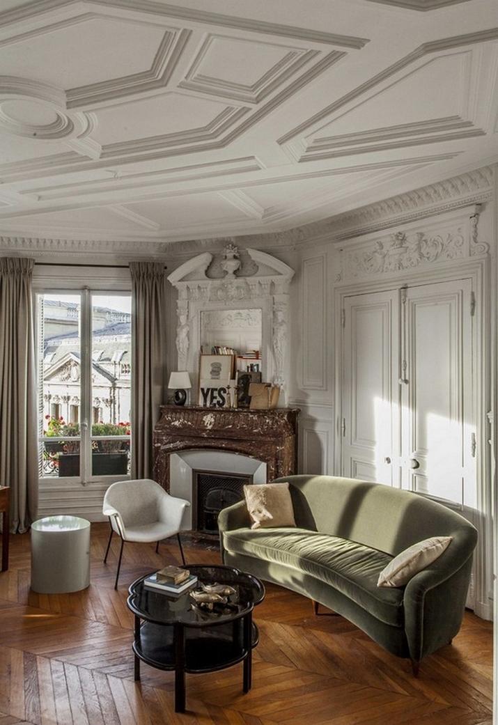 Une Maison Parisienne Éclectique Par Luis Laplace  Une Maison Parisienne Éclectique Par Luis Laplace Une Maison Parisienne   clectique Par Luis Laplace 6