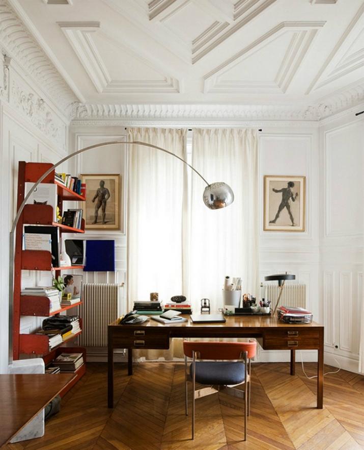 Une Maison Parisienne Éclectique Par Luis Laplace Une Maison Parisienne   clectique Par Luis Laplace 7