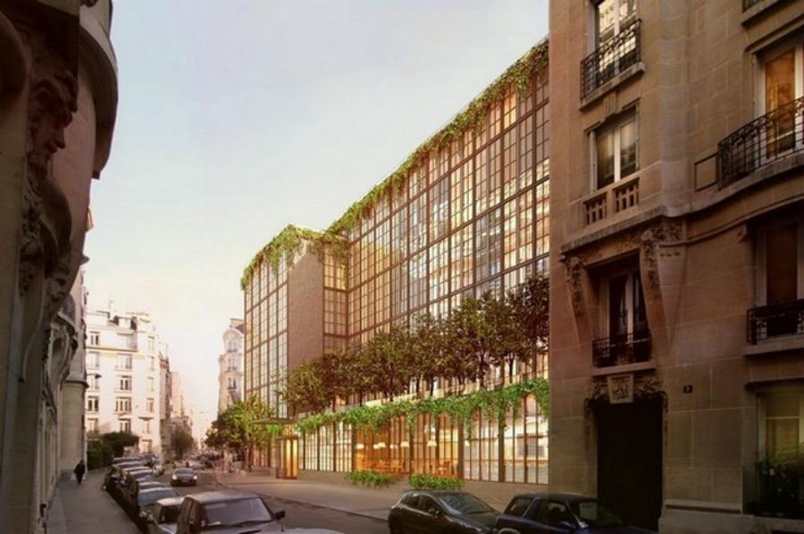 L'hôtel Brach De Paris, Récemment Ouvert, A Été Conçu Par Philippe Starck eeeee