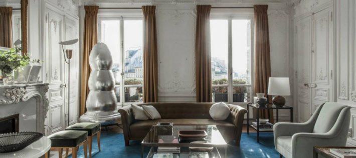 Une Maison Parisienne Éclectique Par Luis Laplace luis laplace paris apatrment habituallychic 003 new classic parisian aesthetic parisian aesthetic tumblr 1024x683 710x315