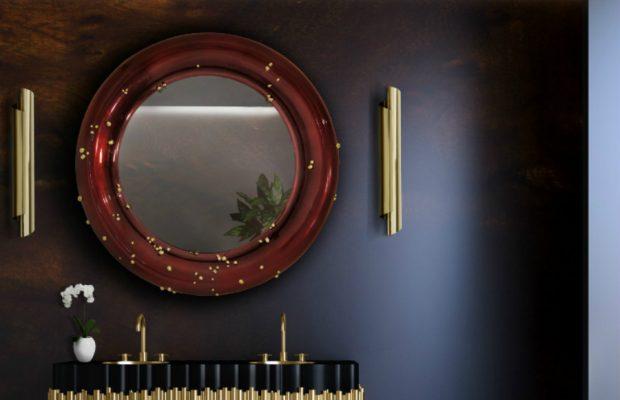Superbes Miroirs Muraux pour Votre Salon Belize Mirror 620x400