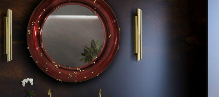 Superbes Miroirs Muraux pour Votre Salon Belize Mirror 710x315