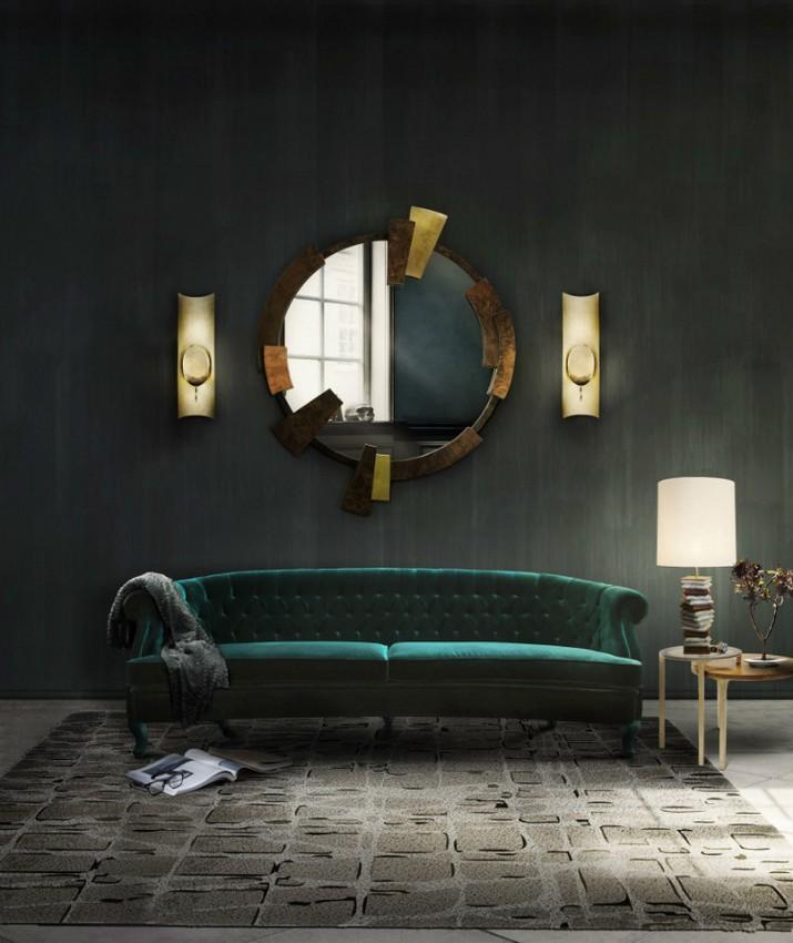 Superbes Miroirs Muraux pour Votre Salon  Superbes Miroirs Muraux pour Votre Salon Superbes Miroirs Muraux pour Votre Salon 12