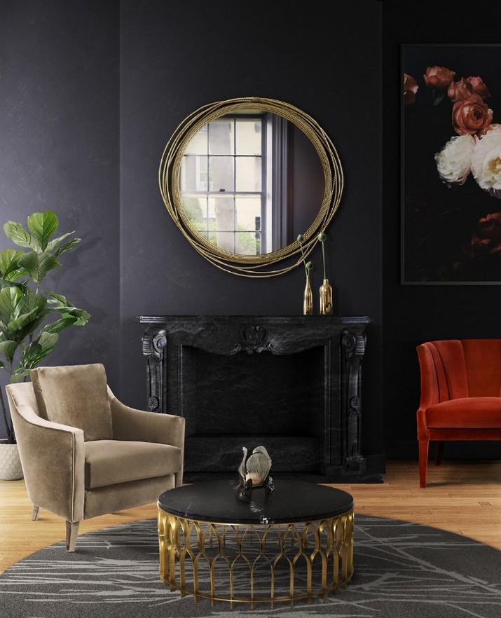 Superbes Miroirs Muraux pour Votre Salon  Superbes Miroirs Muraux pour Votre Salon Superbes Miroirs Muraux pour Votre Salon 14