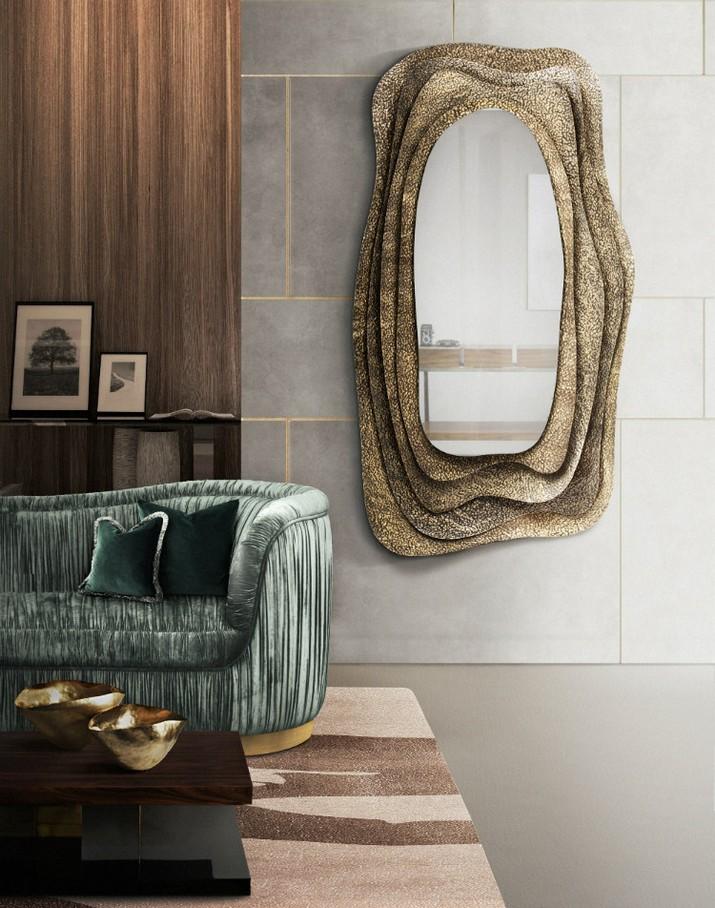Superbes Miroirs Muraux pour Votre Salon  Superbes Miroirs Muraux pour Votre Salon Superbes Miroirs Muraux pour Votre Salon 16