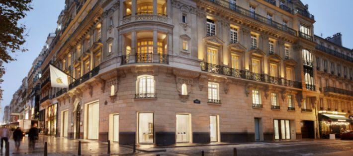 Un Bâtiment Historique des Champs-Élysées abrite Désormais un Nouvel Apple Store fffff 710x315