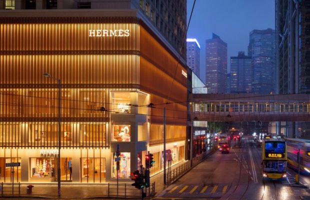 Hong Kong Accueille le Nouveau Magasin Hermés par Studio RDAI