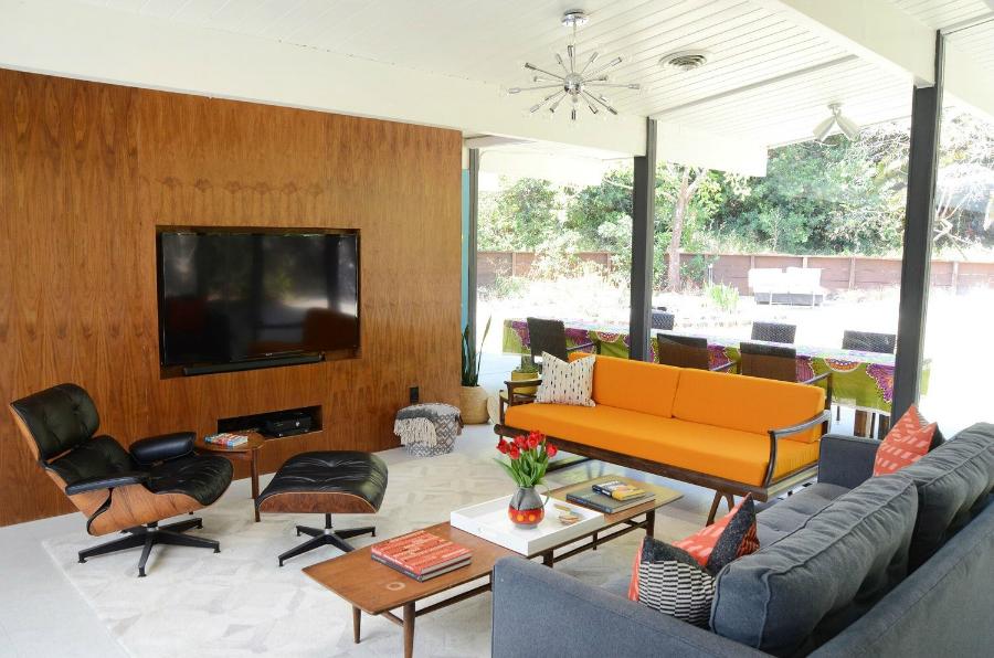 Une Maison Moderne du Style Milieu du Siècle en Californie du Nord ...