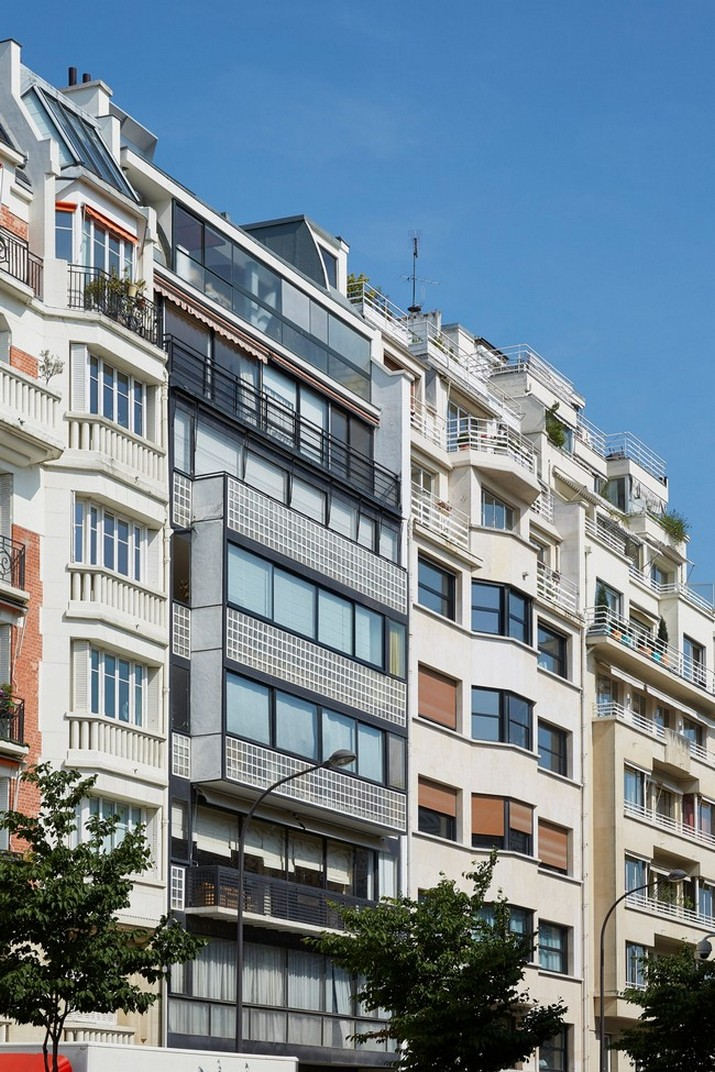 L'Ancien Appartement Parisien de Le Corbusier Rouvre au Public  L'Ancien Appartement Parisien de Le Corbusier Rouvre au Public LAncien Appartement Parisien de Le Corbusier Rouvre au Public 1