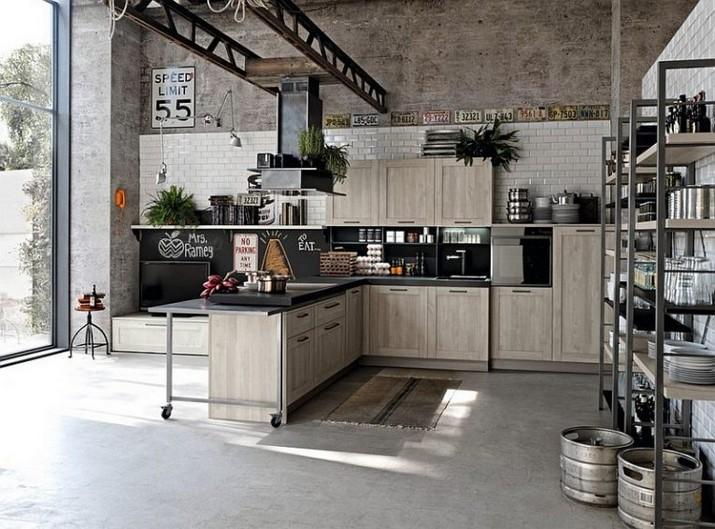 Le Design Incroyable d'une Cuisine de Style Industriel !  Le Design Incroyable d'une Cuisine de Style Industriel ! Le Design Incroyable dune Cuisine de Style Industriel 3