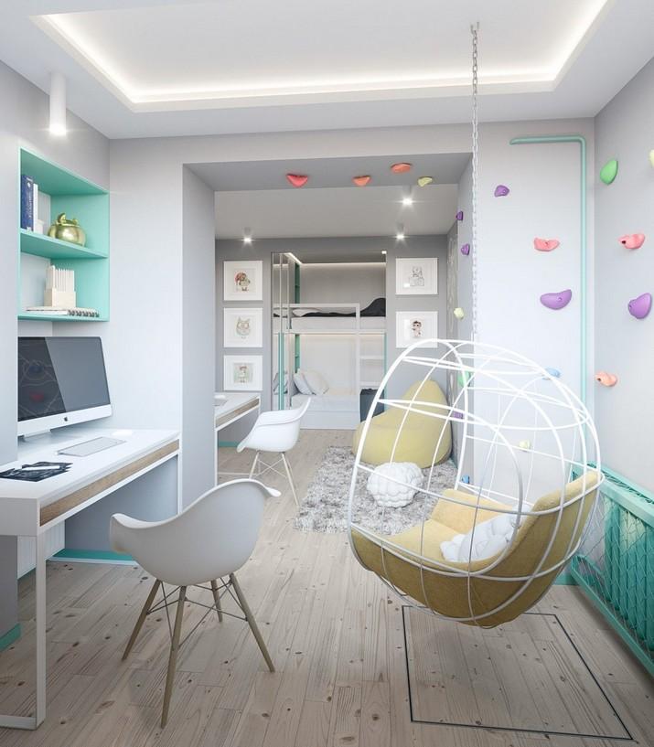 Mélange de Style Scandinave et de Pastels dans un Appartement de Kiev  Mélange de Style Scandinave et de Pastels dans un Appartement de Kiev M  lange de Style Scandinave et de Pastels dans un Appartement de Kiev 8