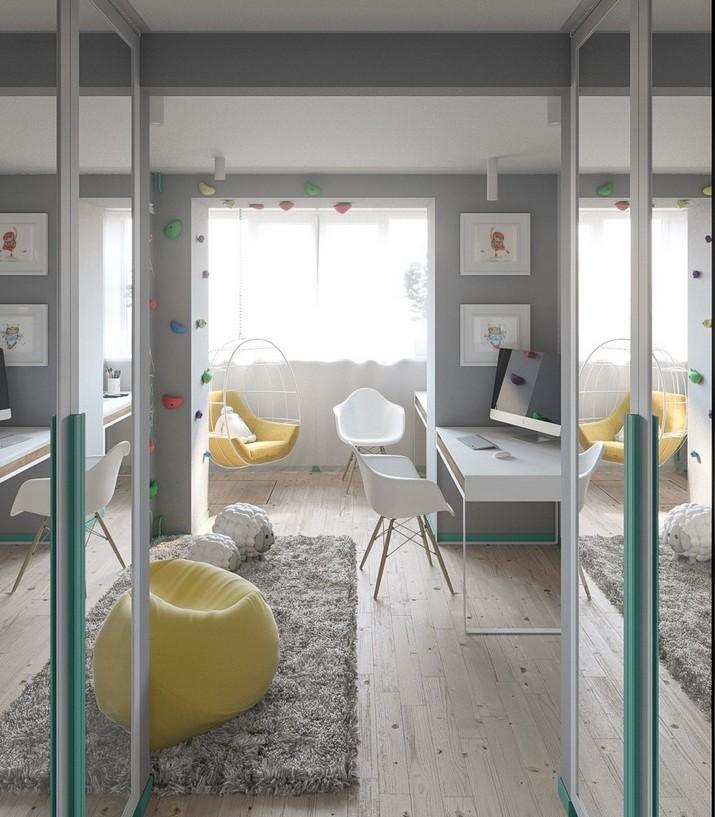 Mélange de Style Scandinave et de Pastels dans un Appartement de Kiev  Mélange de Style Scandinave et de Pastels dans un Appartement de Kiev M  lange de Style Scandinave et de Pastels dans un Appartement de Kiev 9