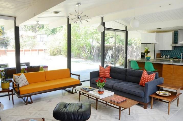 Une Maison Moderne du Style Milieu du Siècle en Californie du Nord  Une Maison Moderne du Style Milieu du Siècle en Californie du Nord Une Maison Moderne du Style Milieu du Si  cle en Californie du Nord 2