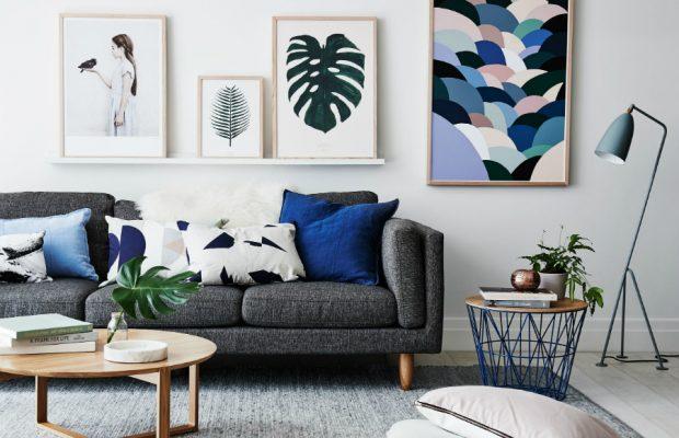 Nous avons trouvé les Idées de Salons Scandinaves que vous Cherchiez  Nous avons trouvé les Idées de Salons Scandinaves que vous Cherchiez more 5 cobalt blue living room accessories beautiful 620x400