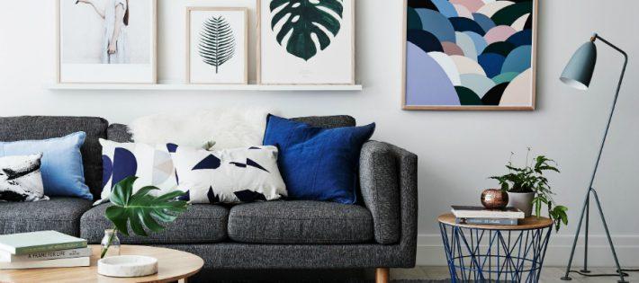 Nous avons trouvé les Idées de Salons Scandinaves que vous Cherchiez more 5 cobalt blue living room accessories beautiful 710x315